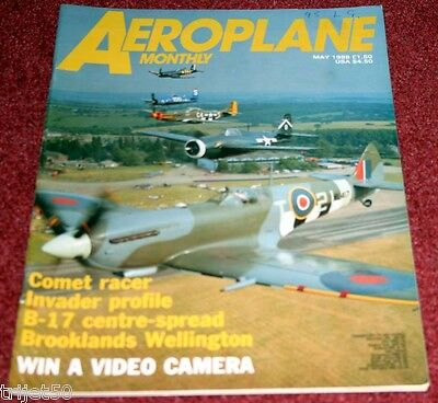 Aeroplane Monthly 1988 May Sunderland,DH88 Comet,Auster