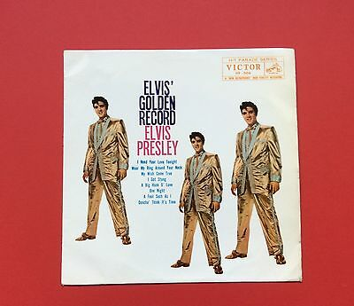 Elvis Presley-Very Tough To Find Elvis Golden Record From Japan