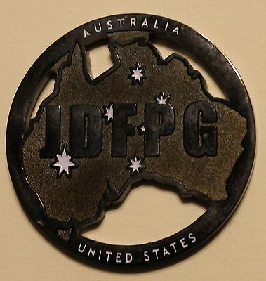Pine Gap Joint Defence Facility JDFPG Australia NSA Partof 5 Eyes Challenge Coin