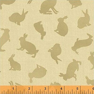 Neutral Small Toile Beatrix Potter Characters cotton material 1//4 yard 22.5 cm
