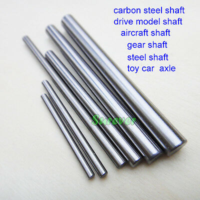 5PCS Carbon steel shaft Rod drive model Transmission axle/aircraft 4WD RC Car