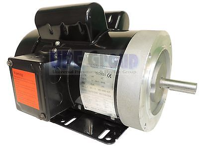 2 HP Electric Motor 3450 / 3600 RPM 1PH 56C Frame TEFC 115/230V General Purpose