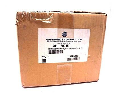 New Gai-Tronics 701-30215 Handset Speaker Amplifier 70130215