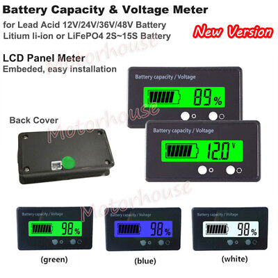 Multi-function Battery Lithium Li-ion 18650 BMS Capacity Indicator Voltage Meter