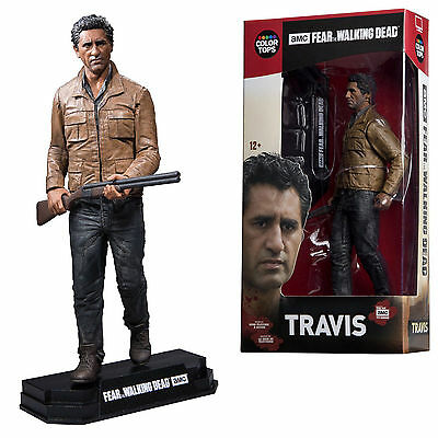 Travis Manawa Fear The Walking Dead Tv Color Tops 18 Cm Mcfarlane Action Figure