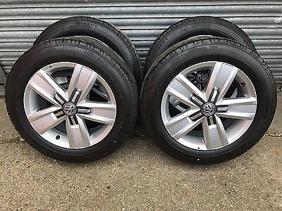 VW T6 Transporter 17 Inch New Alloy Wheels and Tyres