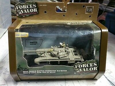 NEW-  Forces of Valor Die-Cast Tank Iraqi T-72  Scale: 1:72