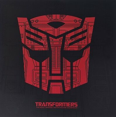 Transformers The Movie Soundtrack  2 Vinyl Lp New