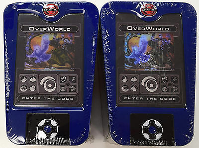 Chaotic TCG Factory Sealed Blue OVERWORLD Collectible Tins - Lot of 2