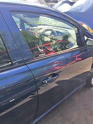2016 Vauxhall Corsa E O/s/f Driver  Front  Right  Door Blue Bare