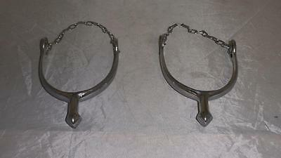 Superb  Antique Military R .c & S 1934 Boot Spurs