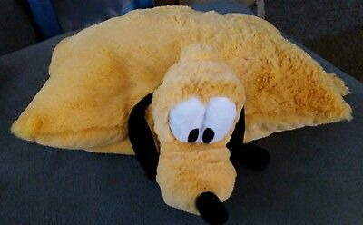 PLUTO Pillow Pet Pal Dog Plush Disney Parks Stuffed Animal Authentic Original