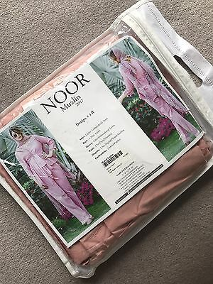 Noor By Saadia Asad Embroidered Muzlin Suit Chiffon Dupatta 2017 Collection