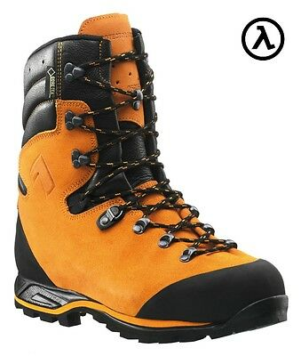 Haix Men's Protector Prime Orange Wp St Logger Boots 603102 * All Sizes - New