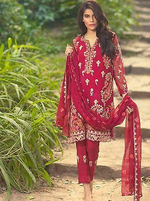 New Original Stitched Mina Hasan Chiffon Size 10 Maria B Indian wedding Party