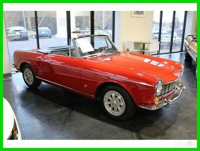 1965 Fiat 1500 ABARTH CABRIOLET @ Vero Beach FL Location