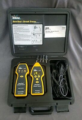 Ideal 61-956 suretest circuit tracer set TR-958 RC-958