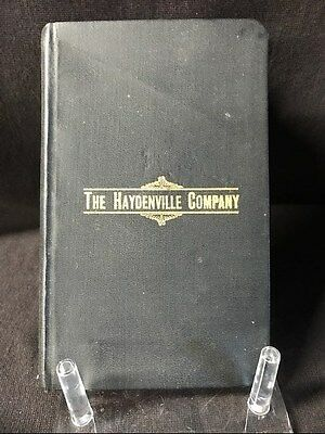 The Haydenville Company Catalog A 1905 Brass and Iron Founders
