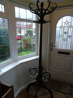 Antique Thonet Style Bentwood Coat Stand