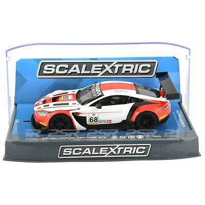Scalextric Aston Martin Vantage Gt3 Elms Series 2015 C3719 New And Boxed