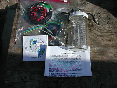 AUTOMOBILE HYDROGEN FUEL GENERATOR H2O Hot Old Low Rat Chevy Dodge Ford Gas