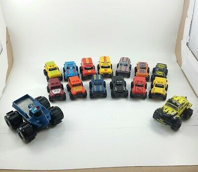 Rare 4X4 Stomper VW Beetle Bug MOC Stompers 1997