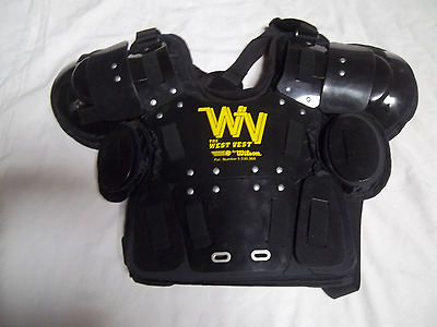 Wilson Wta3210 West Vest  Pro Gold Umpire's Chest Protector Size Large/x-Large