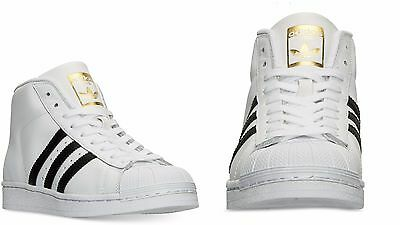 low priced b053c aa4a2 WOMENS Adidas Originals PRO MODEL WHITE BLACK GOLD BY2776