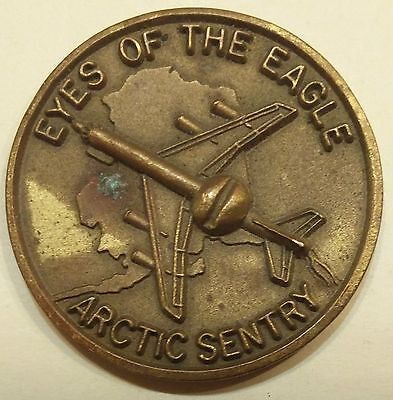 962nd Airborne Air Control Sq Arctic Sentry AWACS Air Force Challenge Coin