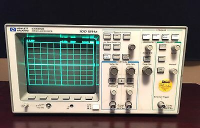 HP 54600B 2-channel 100 MHz Oscilloscope Excellent Condition