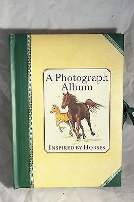 Photograph Album inspired By Horses Illustrated Album