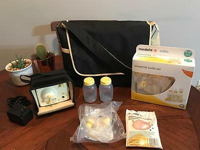 Medela Pump-In-Style Advanced Breastpump Starter Set Double Feeding Baby + MORE