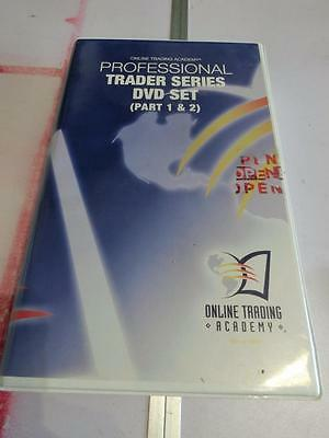 Online Trading Academy Professional Trader Series Part 1 & 2 Day 1-3 4-7 32 DVD
