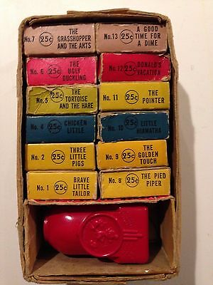 Mickey Mouse Viewer with 12 filmstrips in original box