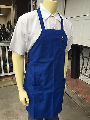 Apron With Pockets / Restaurant/ Catering/ Food Service / Lot Of 6