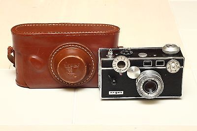 "Argus C3 ""The Brick"" 35mm Film Camera - Refurbished!"