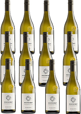 12 X Shelter Bay Marlborough Sauvignon Blanc 2015, Blue Gold Sydney Top 100