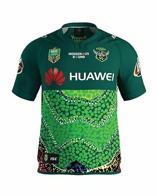 Canberra Raiders NRL 2017 ISC Indigenous Jersey Adults & Kids Sizes!