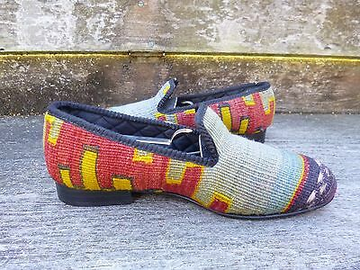 Shipton And Heneage Kilim Slippers – Uk 6 – Superb Condition