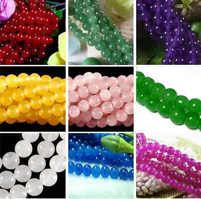 Wholesale Lot Red Natural Stone Gemstone Round Spacer Loose Beads 4mm-12mm