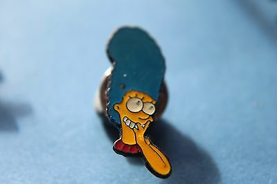 The Simpsons rare Character  marge hair Pin badge