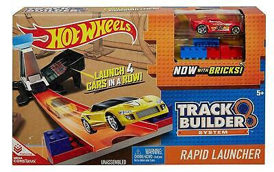 Hot Wheels Playset Track Builder System - Rapid Launcher - DWW94 - New