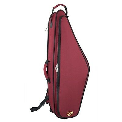 Tom and Will 36TS Padded Tenor Sax Bag - Burgundy