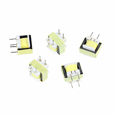 5PCS Audio 1300 : 8 Ohm Transformer EE14 Transformateur POS Transformador
