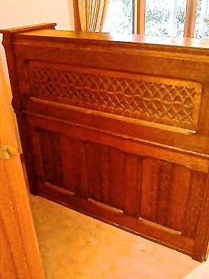 Magnificent  antique Clough & Warren Organ Era 1800s stunning carving detail