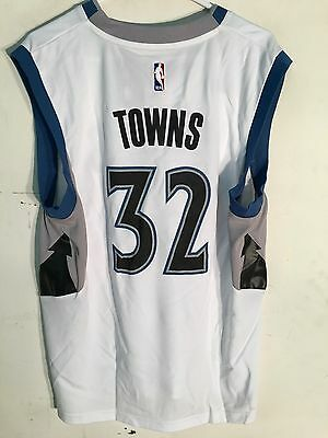 NBA Minnesota Timberwolves Karl-Anthony Towns Basketball Shirt Jersey Vest