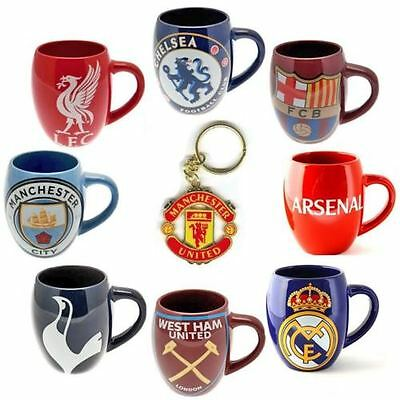 Official Football Club - Tea Tub Ceramic MUG Keyring Tea Coffee Cup Mugs