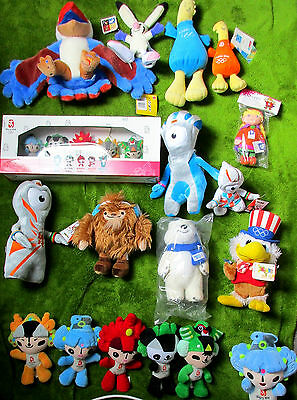 Olympia Maskottchen * Olympics Mascot * mostly new with tags