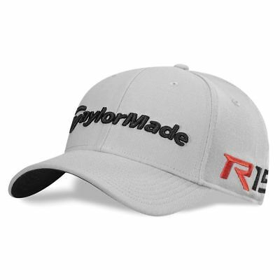 NEW TaylorMade R15/Aero Burner New Era 39 Thirty Gray Fitted S/M Hat/Cap