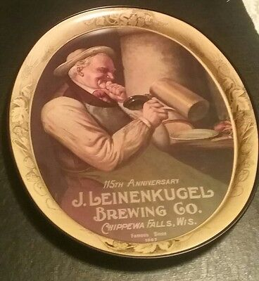 Leinenkugel Brewing Beer Tin Tray sign limited edition